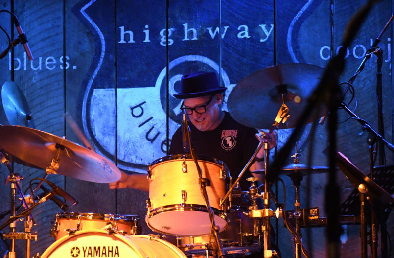 Ben Smith On Stage At Highway 99 Blues Club Photo Courtesy Of Courtney Prather And Music